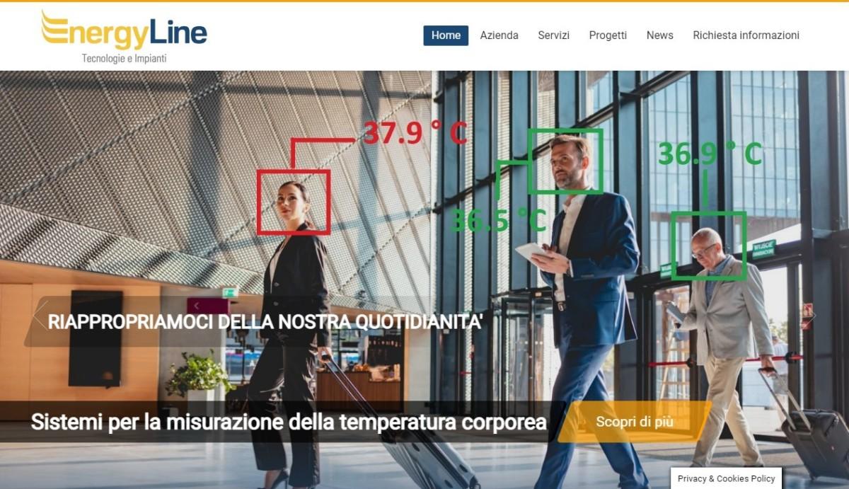 Energy line web