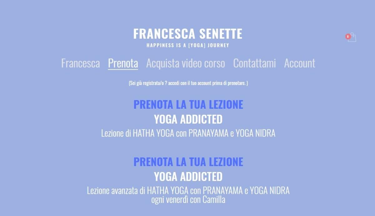 Francesca Senette home
